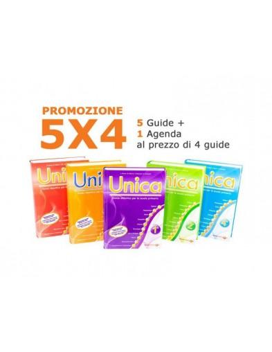 5 Guide didattiche UNICA (tutte le classi) al prezzo di 4