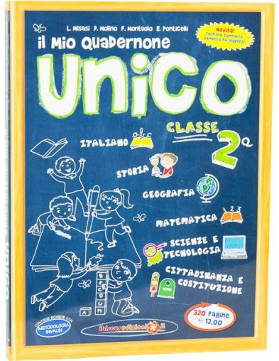 Il mio Quadernone Unico 2ª  - Ibiscus Edizioni