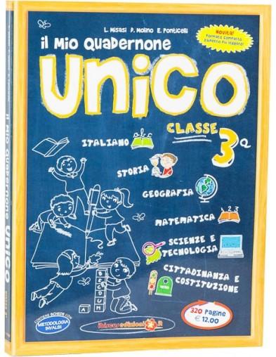 Il mio Quadernone Unico 3ª  - Ibiscus Edizioni