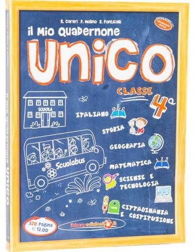 Il mio Quadernone Unico 4ª  - Ibiscus Edizioni