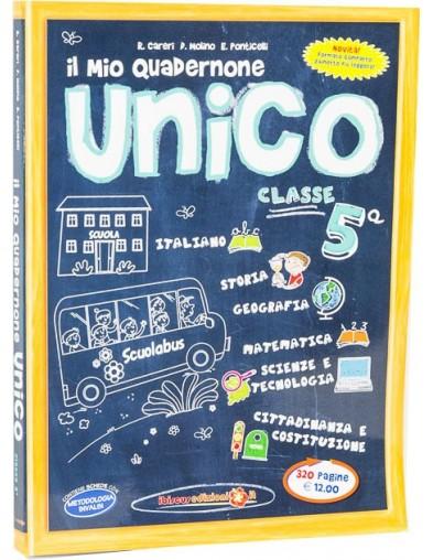 Il mio Quadernone Unico 5ª  - Ibiscus Edizioni